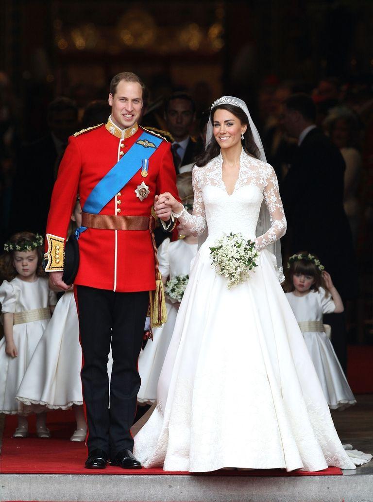 prince william kate middleton wedding day