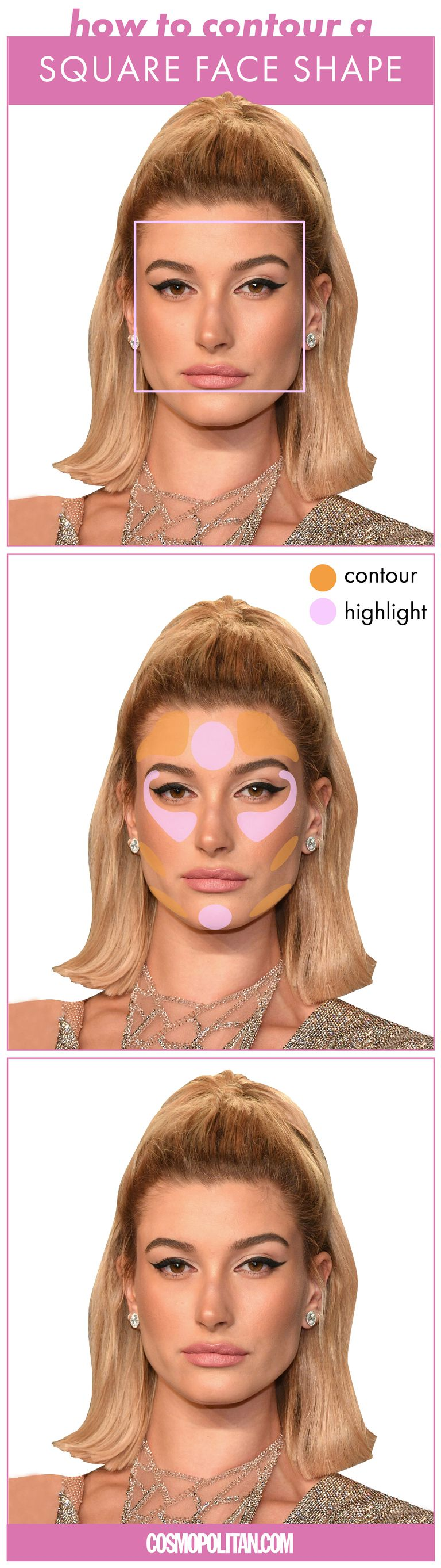 Exactly How To Contour And Highlight Based On Your Face Shape