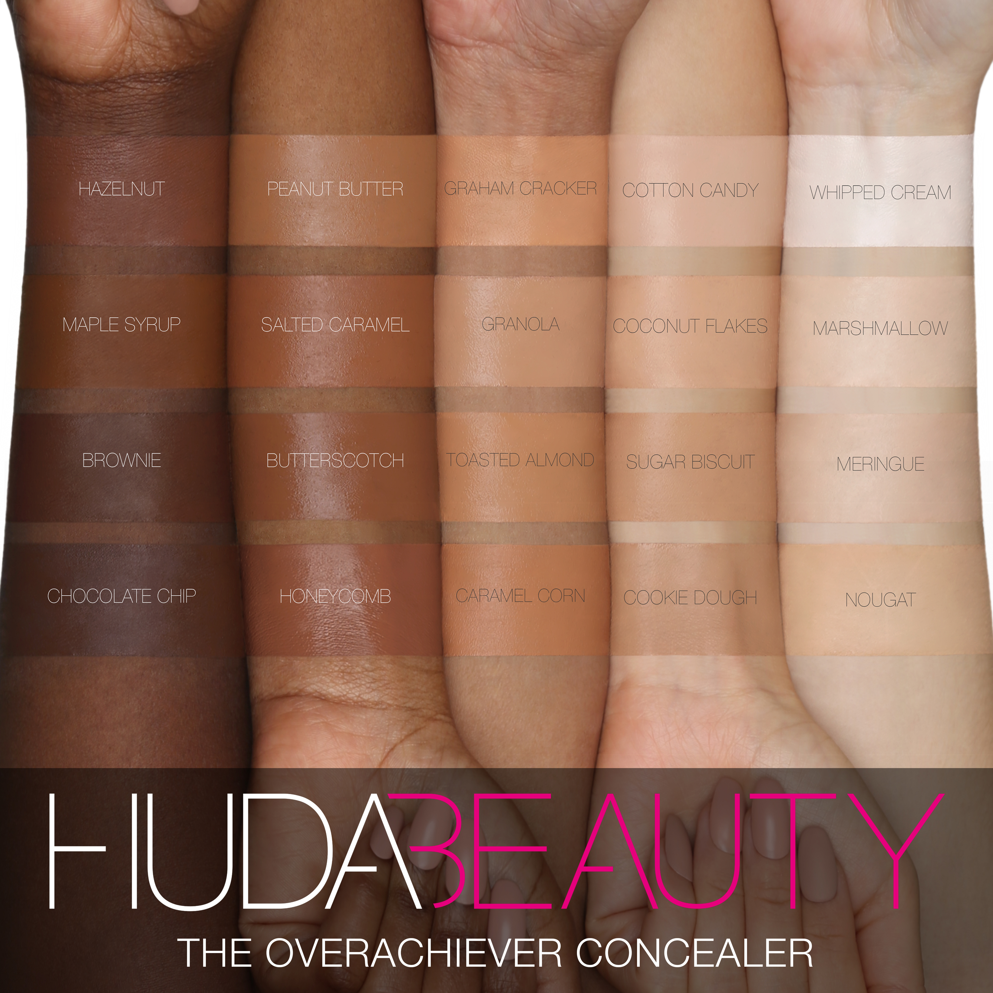 Huda Beauty  Products - Overachiever Concealer