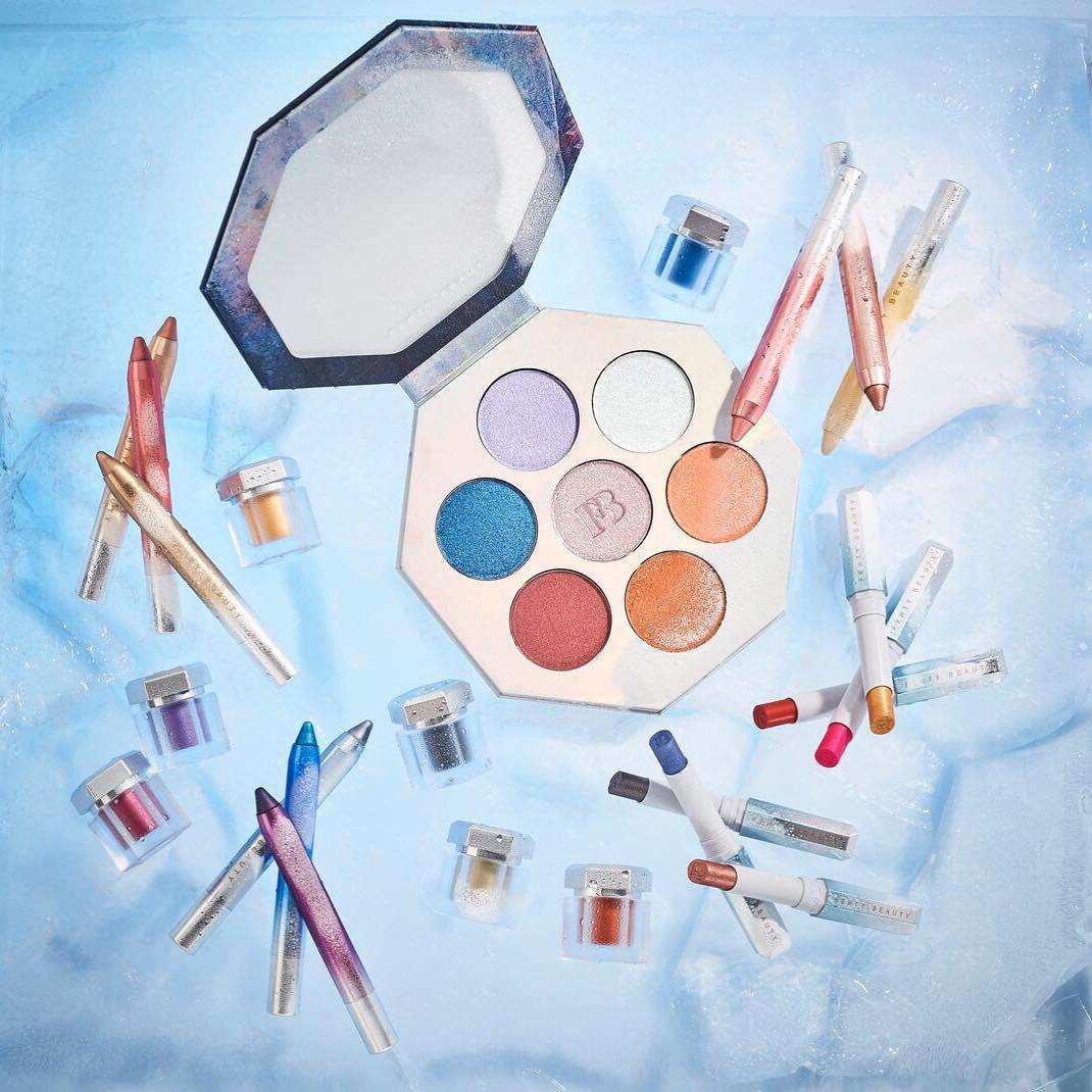 Rihanna Makeup- Fenty Beauty CHILLOWT Collection