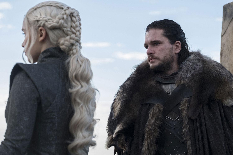 Game of Thrones - Jon Snow and Daenerys Targaryen