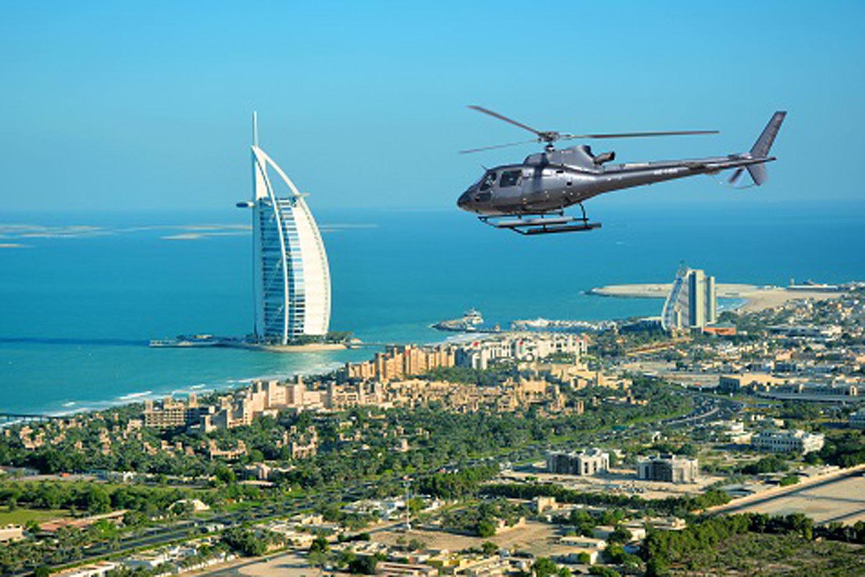 Aerial Scenic Tour of Dubai