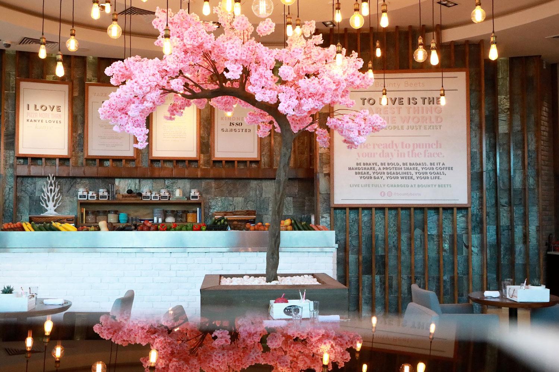 Bounty-Beets-dubai-pink-restaurant-hotel-tree
