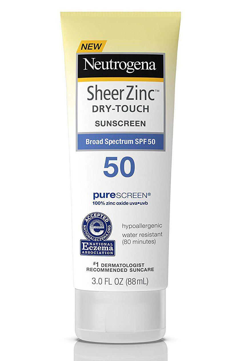 Neutrogena SheerZinc Dry-Touch Sunscreen SPF 50