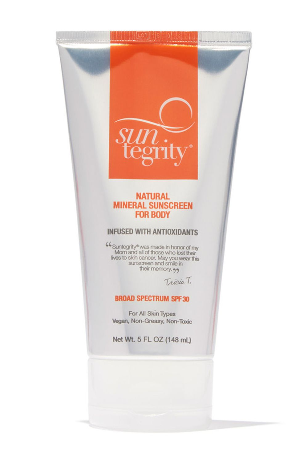 Suntegrity Natural Mineral Sunscreen For Body