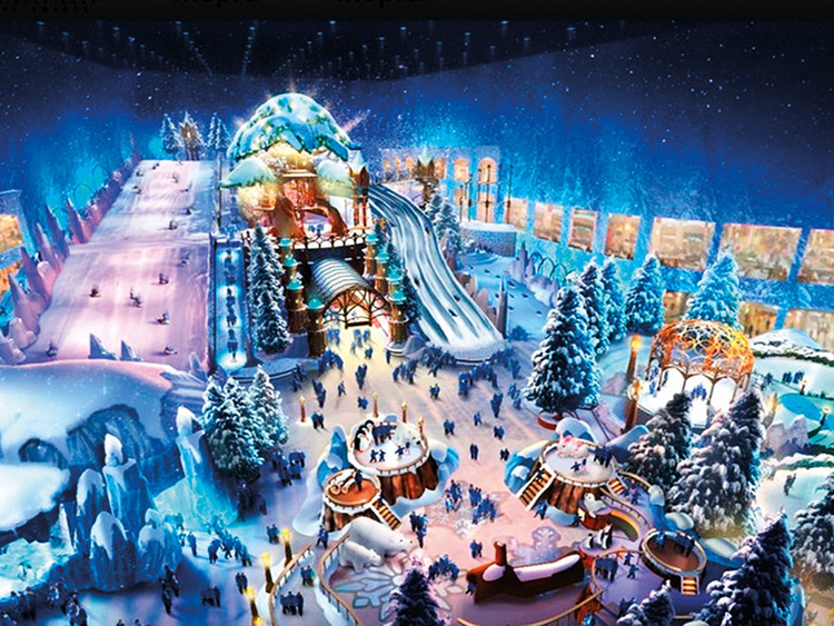 Snow Park Dubai Downtown Christmas 2021 Get Excited The World S Largest Snow Park Is Opening On Reem Island In Abu Dhabi Homepage In The Emirates Out About Cosmopolitan Middle East