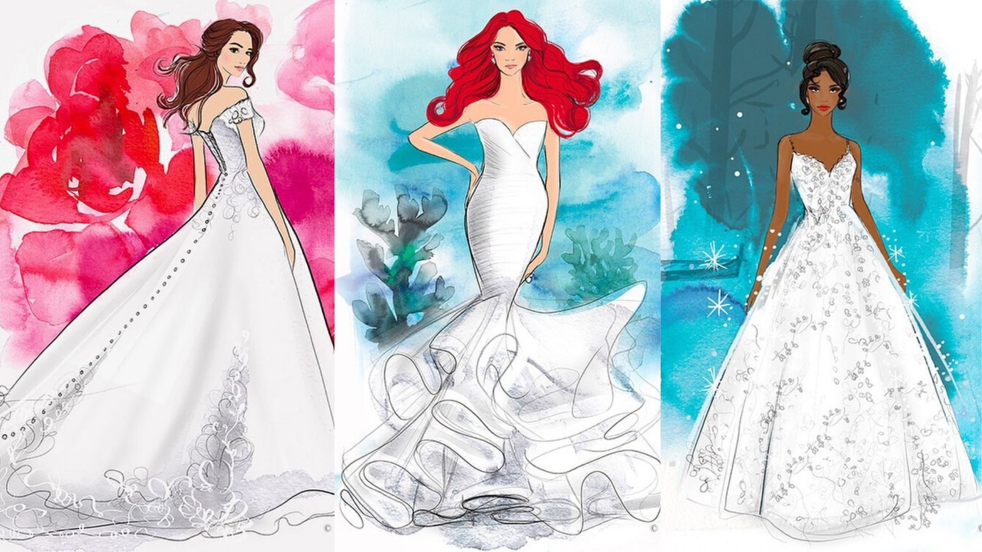 Disney Is Releasing Wedding Dresses Inspired By Your Favourite