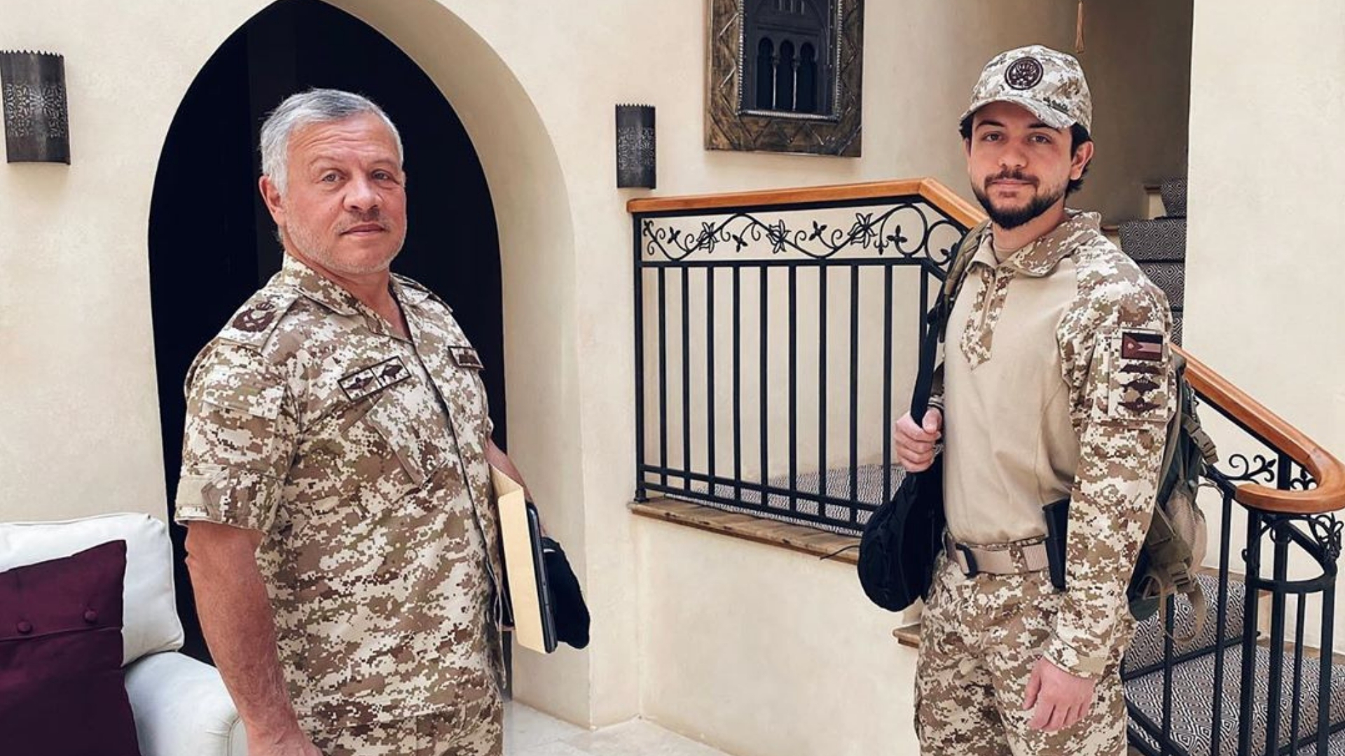 Prince Hussein And King Abdullah Of Jordan Meet With Jordanian Government To Share Covid 19 Updates Cosmopolitan Middle East