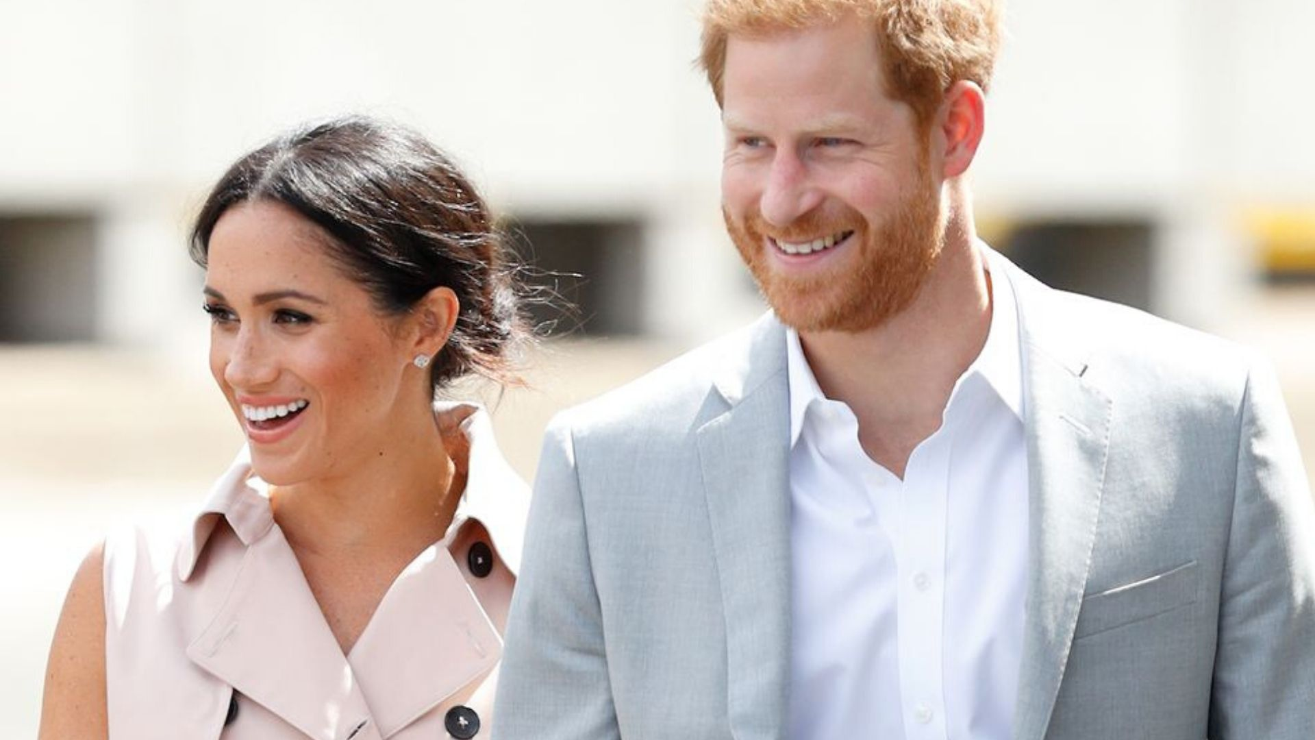 Harry and Meghan Markle react to the Queen's speech about coronavirus