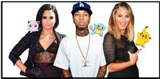 Celebrities Are Also Consumed by Pokémon Go