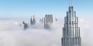 10 Amazing Pictures Of The Fog In Dubai This Morning