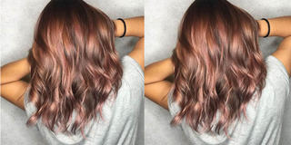 Rose Brown Hair Is The 2018 Pastel Hair Trend That's Brunette Friendly