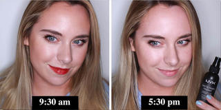 We Put 13 Makeup Setting Sprays Through A 'Full Day' Test, Here's How They Scored...