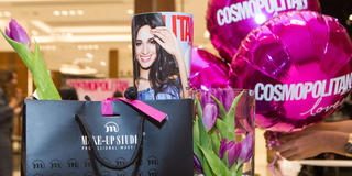 All The Fun From Make-Up Studio's Grand Opening At The Dubai Mall