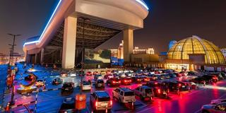 VOX just opened a drive-through cinema at Mall of the Emirates