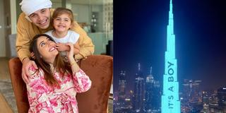 This Dubai Youtuber projected her gender reveal on Burj Khalifa