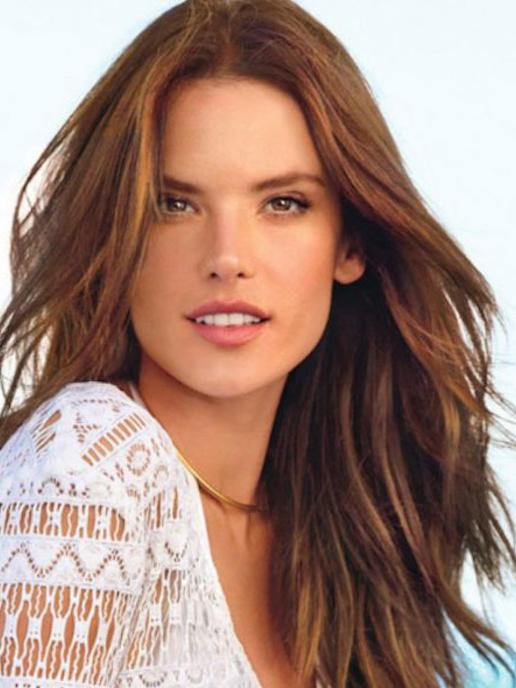 The Best Brown Alessandra Ambrosio Hair Images
