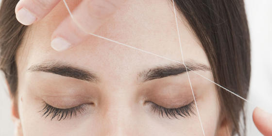 What to Expect the First Time You Get Your Brows Threaded
