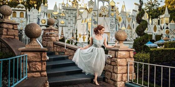 This Woman Had a Stunning Solo Photo Shoot at Disneyland After Being Dumped by Her Fiancé