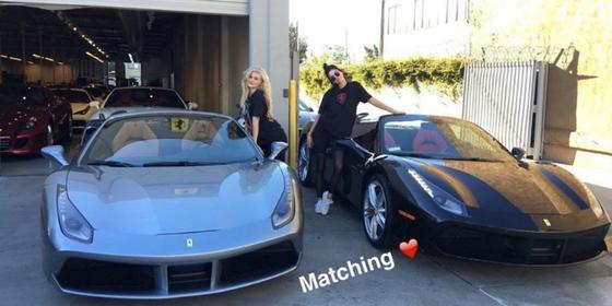 Kendall and Kylie Jenner Now Buying Matching Ferraris