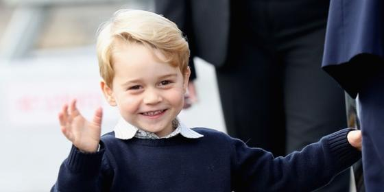 Prince George Waving Good-Bye to Canada Is Honestly the Cutest Thing Ever