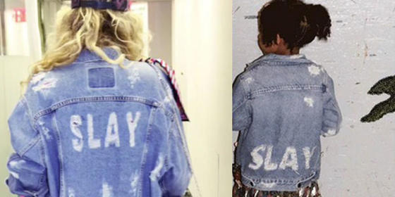 Beyonce And Blue Ivy's Matching Denim Jackets Literally Slay