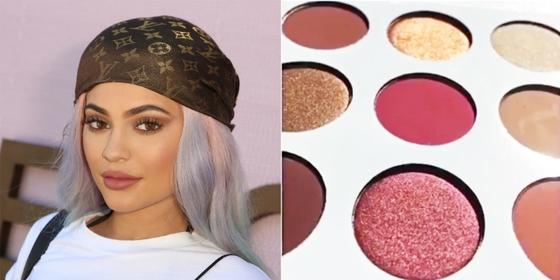Kylie Jenner's New Burgundy Kyshadow Palette is Everything