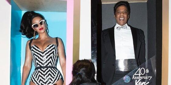Beyoncé, Jay Z, and Blue Ivy Just Took Family Halloween Costumes to the Next Level