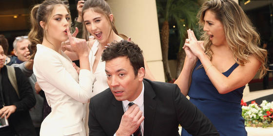 Insta-happy at the Golden Globes