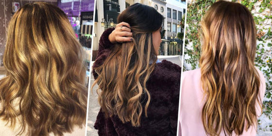 Brunettes, the Tiger Eye Dye Job Is the One You've Been Waiting For