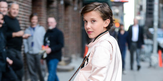 Stranger Things' Millie Bobby Brown is a Calvin Klein model Now