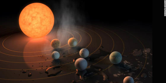 We Are Not Alone: NASA Finds Seven Earth-Like Planets 'Close' To Us