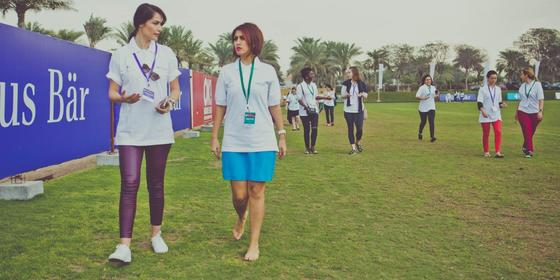Buddy-Up To A Mentor At The Vital Voices Global Mentoring Walk In Dubai