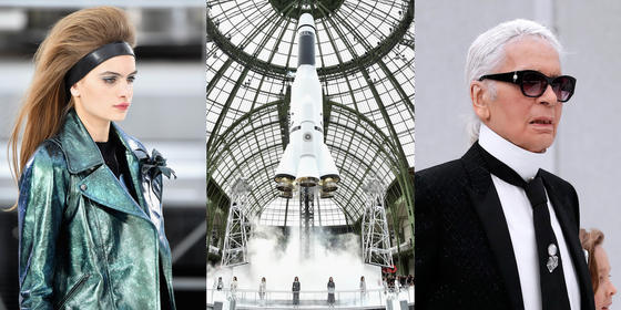 Chanel Goes Out Of This World At Paris Fashion Week