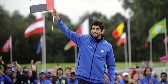 HH Sheikh Hamdan Bin Mohammad Made An Abra Driver's Day in Dubai