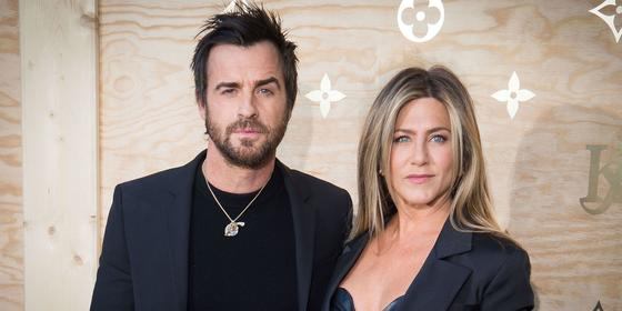 Justin Theroux Loves Jennifer Aniston... and a Bad Pun