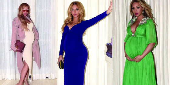 Every Single One Of Beyoncé's STUNNING Maternity Looks