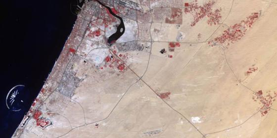 NASA's Images Of Dubai From Space Show How Much It Has Changed Over 40 Years