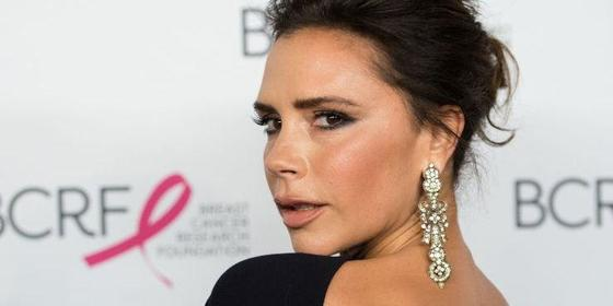 Victoria Beckham Showed Off Her Disappearing Back Tattoo
