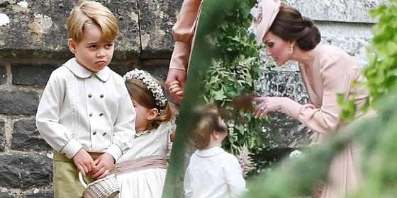 Prince George Got In Real Trouble At Pippa Middleton's Wedding
