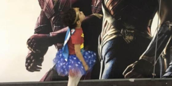 These Photos Of Little Girls At Wonder Woman Screenings Might Make Your Heart Explode