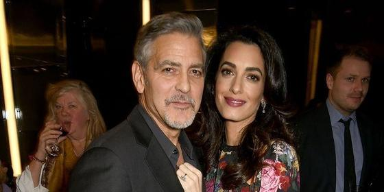 George And Amal Clooney Welcome Their Twins. Hooray!