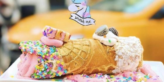 This Video Of Unicorn Cannoli Being Made Will Make You Believe In Magic