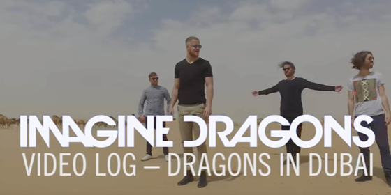 Imagine Dragons Have Just Released A Vlog From Dubai