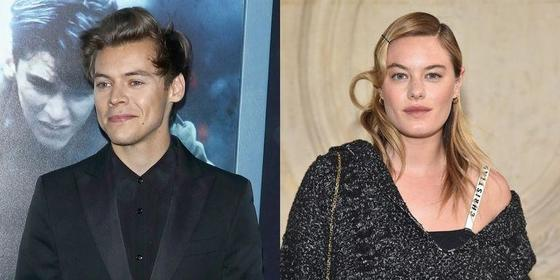 Is Harry Styles Dating Victoria's Secret Model Camille Rowe?