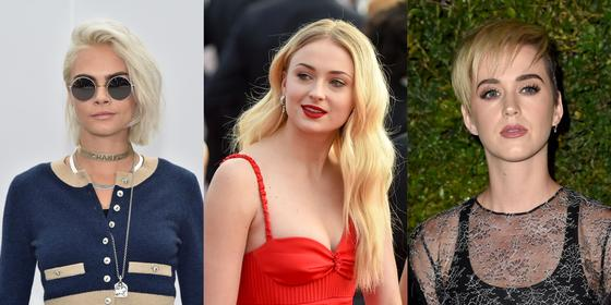 9 Stars With Blonde Ambition