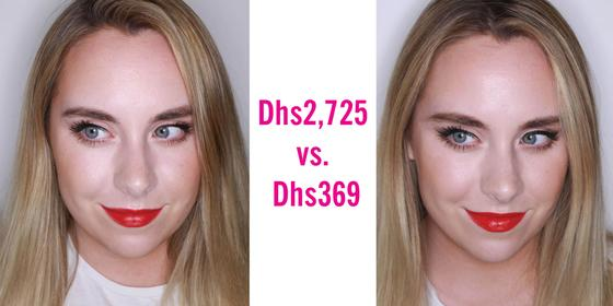 One Of These Make-up Looks Cost Over Dhs2,300 More Than The Other – Can You Tell Which?