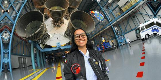 A 15-year-old Emirati Student's Experiment Has Launched Into Space