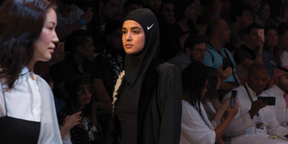 The Nike Pro Hijab Has Made Its Catwalk Debut