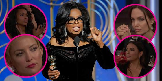 Watch: Oprah Winfrey's Incredible Golden Globes Speech